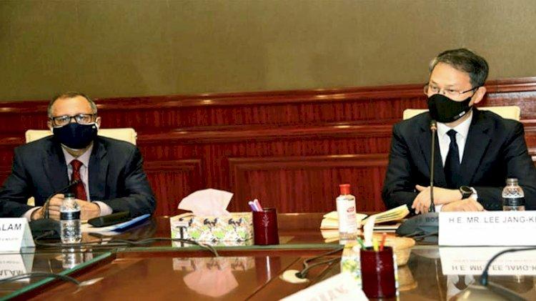 বাংলাদেশে আরও বিনিয়োগ করতে আগ্রহী কোরিয়া: রাষ্ট্রদূত লি জাং কেইন
