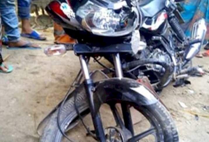 ঝিনাইগাতীতে মোটরসাইকেল নিয়ন্ত্রণ হারিয়ে চালক নিহত