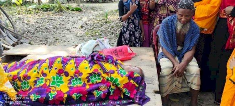 শার্শায় বিদ্যুৎস্পৃষ্ট হয়ে বৃদ্ধার মৃত্যু